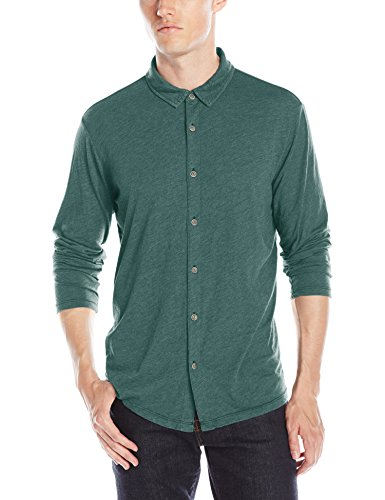 amp; by Shirt Henley Graham Men's Hedge Spencer Velvet EfF4Bq4