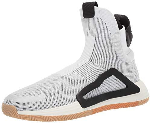 adidas Men's N3XT L3V3L Baseball Shoe, Off White Gum, 8 Medium US (The Best Basketball Shoes Ever)