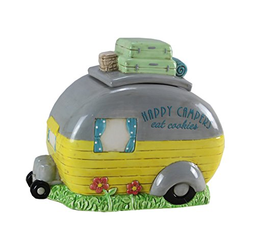 Ceramic Camper Cookie Jar made our list of gift ideas rv owners will be crazy about make perfect rv gift ideas