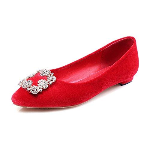 Zapatos de moda de primavera/zapatos bajo acentuados poco profundos/zapatos A