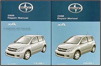 2006 scion xa manual