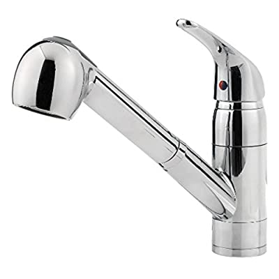 Price Pfister Pfirst Series Single Handle 1 or 3-Hole Pull-Out Lead Free Kitchen Faucet