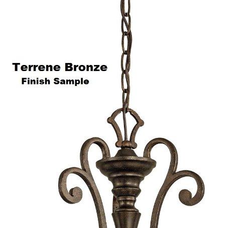 Kichler 4908TRZ Accessory Chain Extra Heavy Gauge 36-Inch, Terrene Bronze
