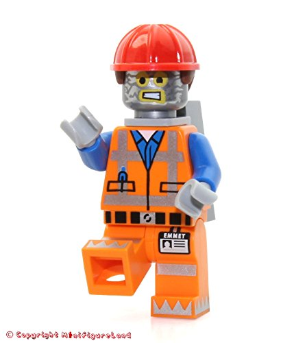 LEGO Movie Robo Emmet Minifigure (Robot Tinfoil ()