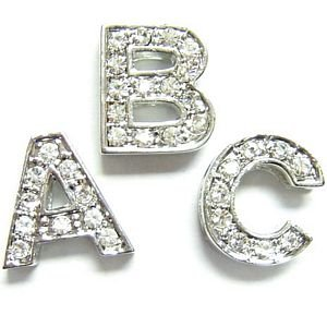 crystal letters for personalized collars