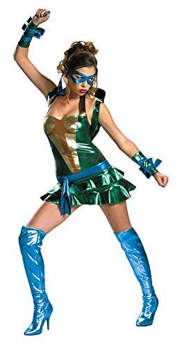 Sassy Leonardo Tmnt Adult Womens Costume