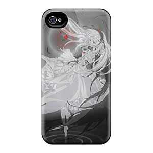 Protective PC Case With Fashion For Iphone 4/4S Case Cover (happy Happy Roses)