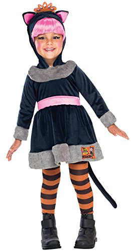 Boo Costume Toddler (LaLaLoopsy Boo Scaredy Cat Costume, Toddler)