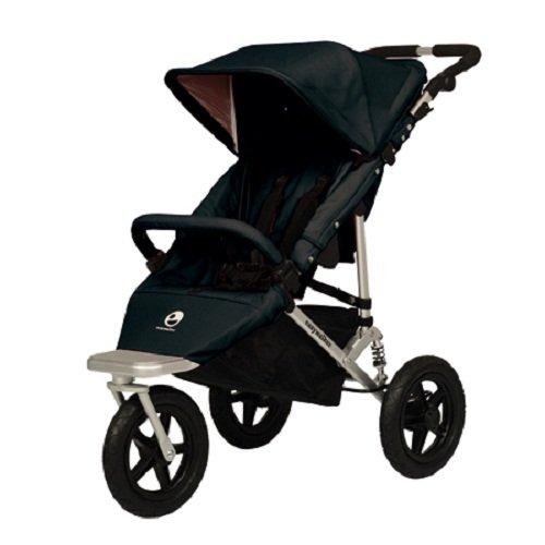 Easywalker Sky Plus - Silla de paseo (3 ruedas), color negro ...