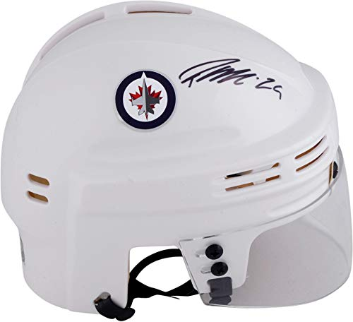 Patrik Laine Winnipeg Jets Autographed White Mini Helmet - Fanatics Authentic Certified - Autographed NHL Mini Helmets