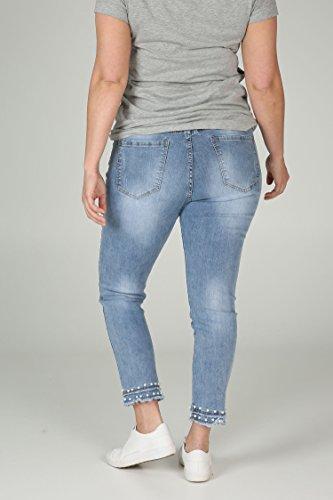 d7538f3d0f8e PAPRIKA Damen Große Größen Caprihose aus Jeans Jeans bt364jus ...
