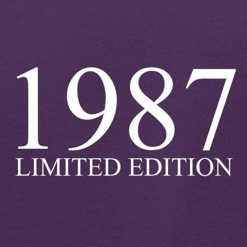 1987 Limierte Auflage / Limited Edition - 30. Geburtstag - Herren T-Shirt - Lila - L