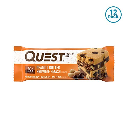 Quest Nutrition Peanut Butter Brownie Smash Protein
