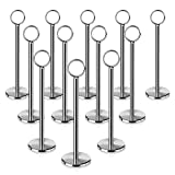 New Star 12 Pc Table Number Holder Table Card Holder Table Number Stand Place Card Holder 12'