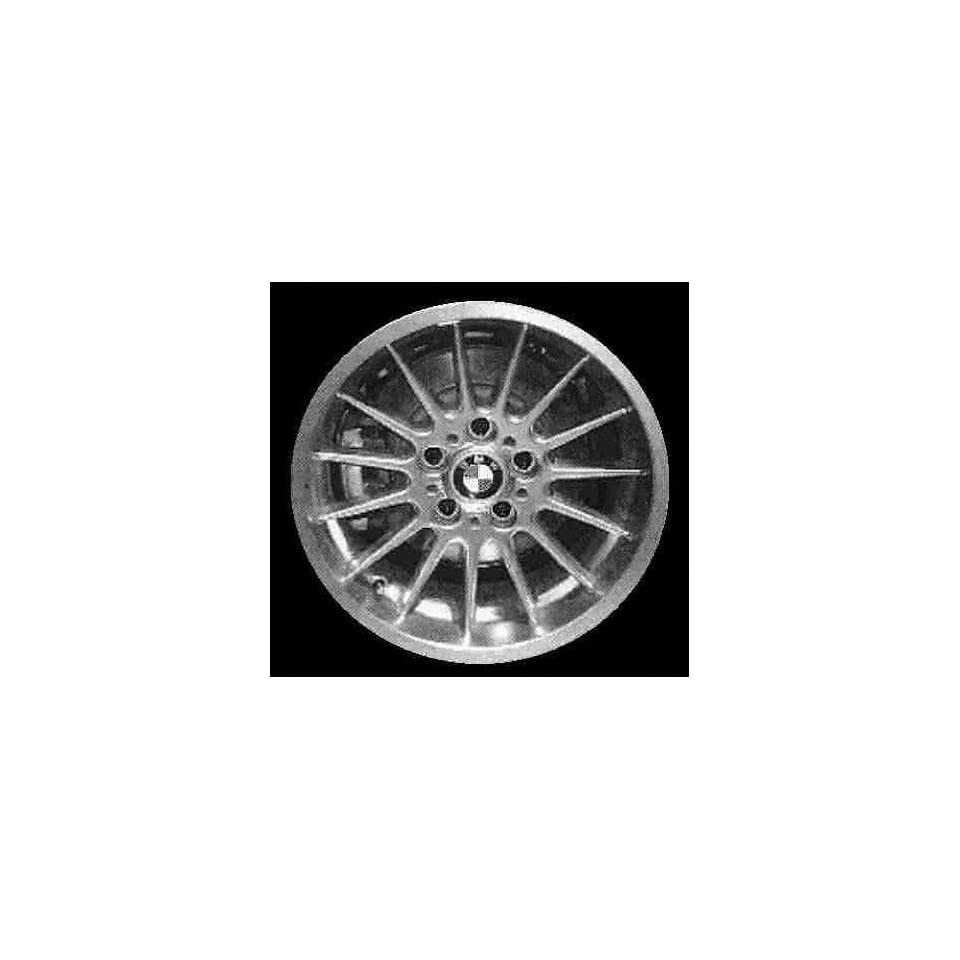 98 99 BMW 323I 323 i ALLOY WHEEL RIM 17 INCH, Diameter 17, Width 8.5 (15 SPOKE, NATURAL FINISH), 41mm offset Style #32, SILVER, 1 Piece Only, Remanufactured (1998 98 1999 99) ALY59297U10