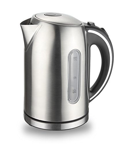 Clever Home 1.7 LT. Stainless Steel Electric Tea Kettle