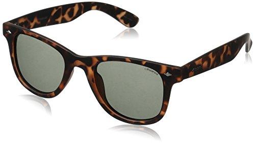 Polaroid Sunglasses Pld6009ns Wayfarer, Havana Orange/Green Polarized, 48 - Sunglasses Havana Orange