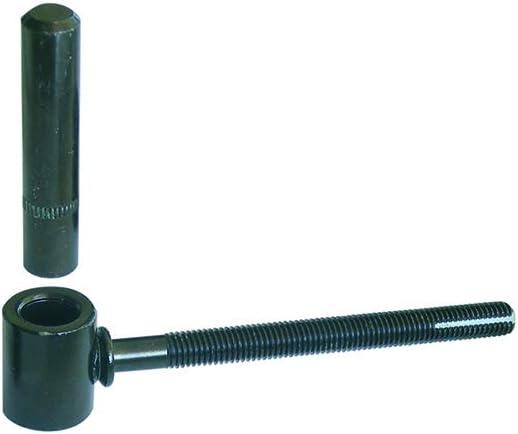 Zingu/é blanc longueur 130 mm Diam/ètre 16 mm Gond /à scellement chimique