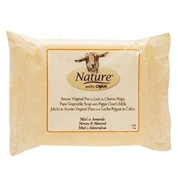 Canus Goats Milk Soap Bar Honey Almond ...
