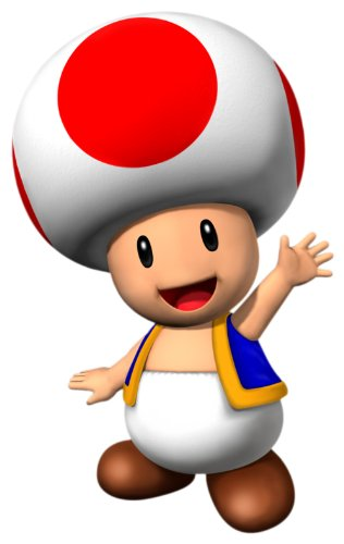 Super Mario Brothers Costume, Toad