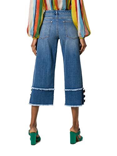 E Dolce Jeans Gabbana Coton FTA68ZG890TB9681 Femme Bleu 6nvqOz