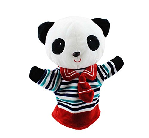 Parent Kids Children Play Together / Hand Puppets Cute Soft Toys, Panda Style