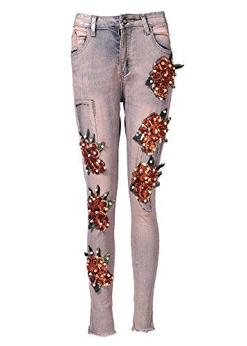 JeansForest - Jeans - Femme Gris
