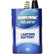 Rayovac Lantern Battery, 6 Volt Alkaline Spring Terminal, 806
