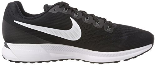 Black Women's NIKE Competition White 001 Zoom 34 WMNS Black Grey Running dark Air Shoes anthracite Pegasus gqnqwzRd