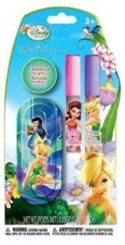 - Disney Fairies Flavored Lip Gloss Wand 2 Pack Includes Bonus Travel Tin