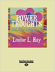 power thoughts 365 daily affirmations pdf