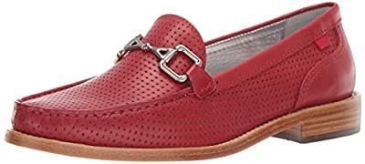 MARC JOSEPH NEW YORK Womens Leather Park Ave Buckle Loafer