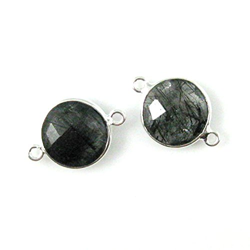 12mm Faceted Coin - 6