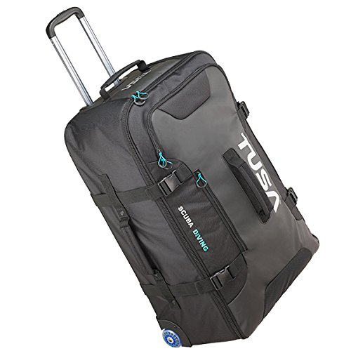 Tusa Large Roller Bag with Telescoping Handle and