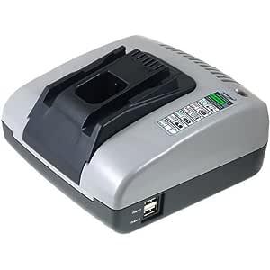 Premium Powery Cargador de batería con USB para Hilti ...