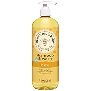 Amazon Com Burt S Bees Baby Shampoo Amp Wash Original Tear