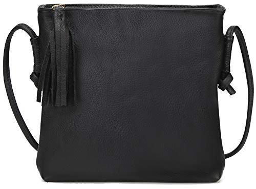 Women's Designer Purse MK CUTE Designer Organizer LV Handbags Luxury Crossbody Shoulder Ladies Small Genuine Leather (Black-524)