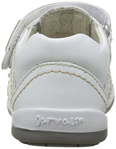 Garvalin Mimizan - Zapatos de primeros pasos Bebé-Niñas Blanco (Blanco)