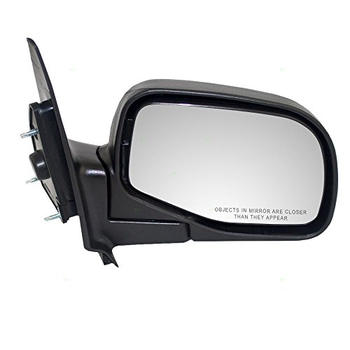 Passengers Manual Side View Mirror Styled Type Replacement for Ford Mazda Pickup Truck 1F70-69-120