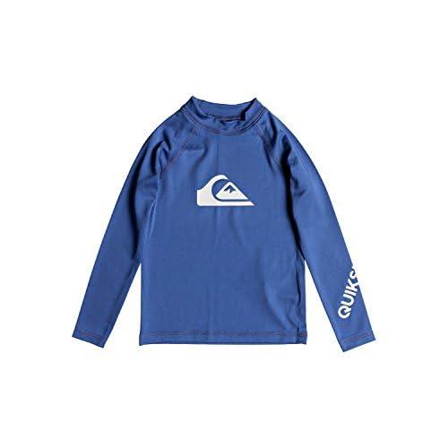 discount Quiksilver Boys All Time - Long Sleeve Upf 50 Rash Vest Long Sleeve Upf 50 Rashguard for sale