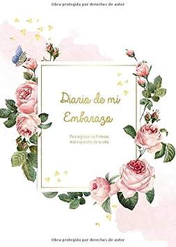 Diario de mi Embarazo: Para registrar los 9 meses más especiales de tu vida - Diario del Embarazo y Agenda embarazo | Regalos para mamas embarazadas