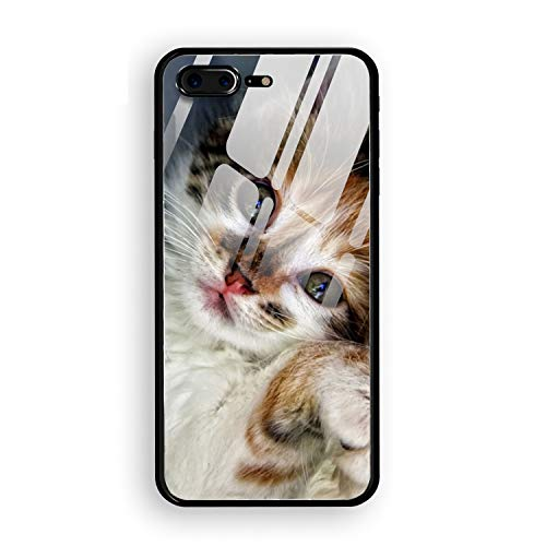 - Spoiled Kitty iPhone 8 Plus Case Anti-Scratch Shock Proof Dust Proof Print PC Case
