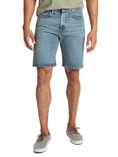 (Wrangler Authentics Men's Comfort Flex Denim Short, Sandstone, 38)