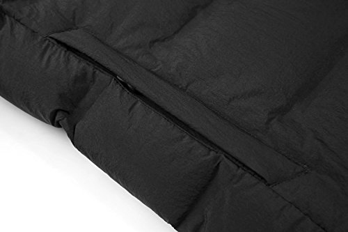 7f0e8bdfe Valuker Men's Seamless Down Jacket Hooded Winter Coat Puffer Parka