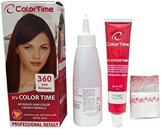 Color time, tinte en crema para el cabello de color caoba ...