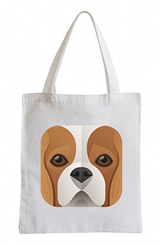 Raxxpurl Icona Beagle Fun sacchetto di iuta