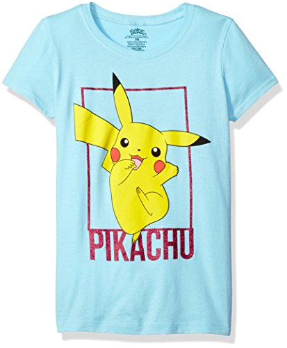 Pokemon Big Girls Pikachu The Princess Tee, Cancun, 7/8