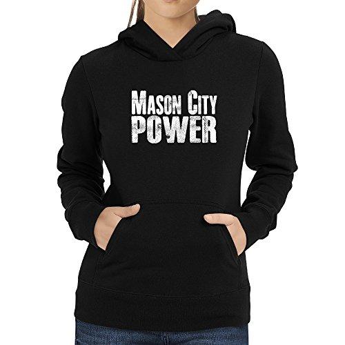 Mason Mason Mason cappuccio con Felpa da donna Eddany City power da8BdTx