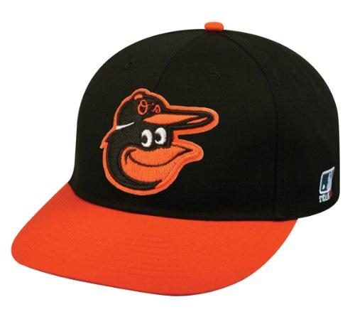 2013 Adult FLAT BRIM Baltimore Orioles Road Black/Orange Hat Cap MLB Adjustable