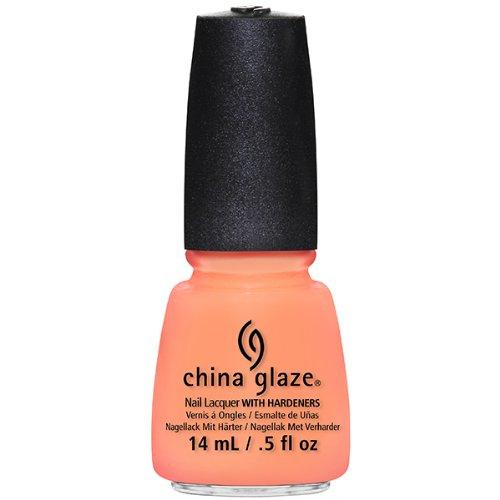 China Glaze Nail Lacquer, Sun Of A Peach, 0.5 Fluid Ounce 81318